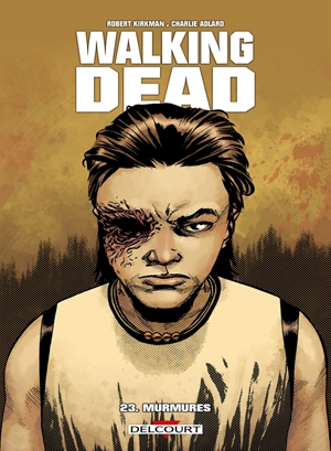 Couverture Walking Dead, tome 23 : Murmures