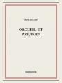Couverture Orgueil et Préjugés Editions Bibebook 2015