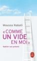 Couverture Comme un vide en moi Editions Le Livre de Poche (Spiritualités) 2014