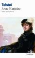 Couverture Anna Karénine Editions Folio  (Classique) 2010