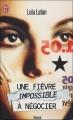 Couverture Une fièvre impossible à négocier Editions J'ai Lu 2003