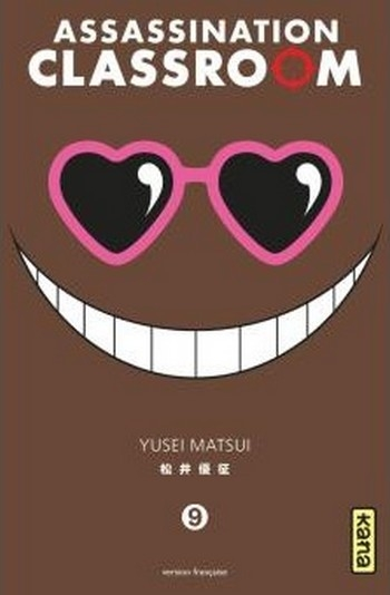 Couverture Assassination Classroom, tome 09