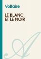 Couverture Le blanc et le noir Editions Atramenta 2011