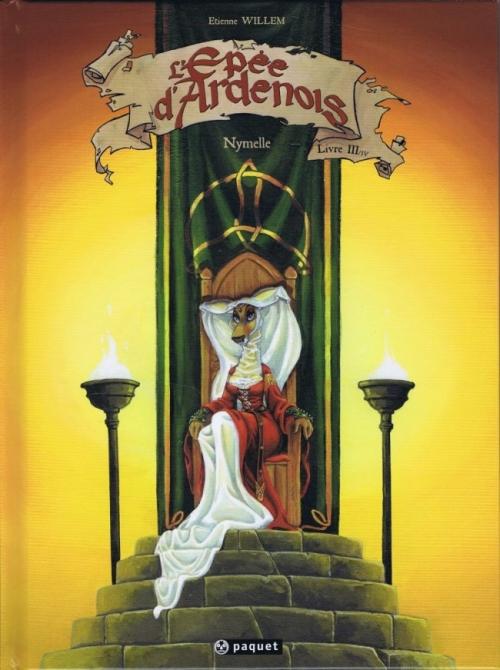 Couverture L'épée d'Ardenois, tome 3 : Nymelle