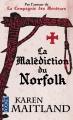 Couverture La malédiction de Norfolk Editions Pocket 2015