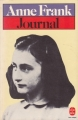 Couverture Le journal d'Anne Frank Editions Le Livre de Poche 1950