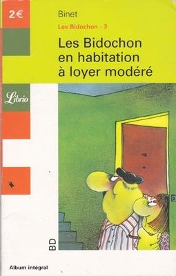 Couverture Les Bidochon, tome 03 : Les Bidochon en habitation à loyer modéré