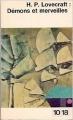Couverture Démons et merveilles Editions 10/18 1955