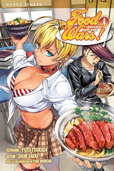 Couverture Food Wars !, tome 04