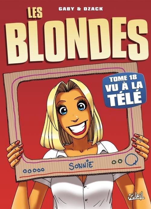 Couverture Les blondes, tome 18 : Vu à la télé
