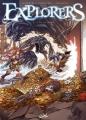 Couverture Explorers, tome 2 : L'île au trésor Editions Soleil 2010