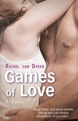Couverture Games of love, tome 1 : L'Enjeu