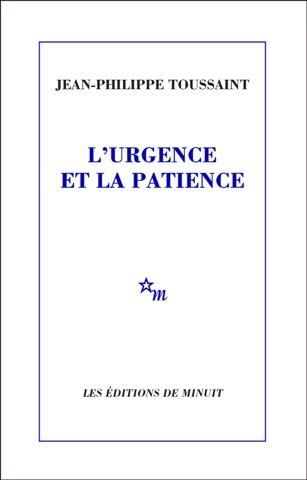 Couverture L'Urgence et la patience