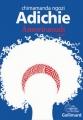 Couverture Americanah Editions Gallimard  (Du monde entier) 2015