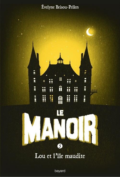 Couverture Le manoir, saison 1, tome 5 : Lou et l'île maudite