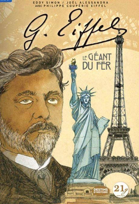 Couverture G. Eiffel : Le géant du fer