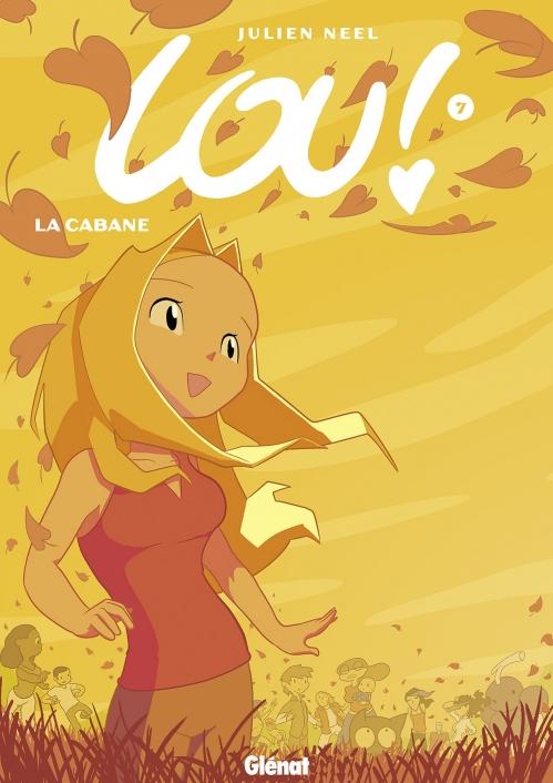 Couverture Lou, tome 7 : La cabane