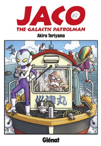Couverture Jaco : The Galactic Patrolman