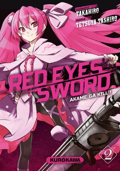 Couverture Red eyes sword, tome 02