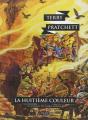 Couverture Les Annales du Disque-Monde, tome 01 : La Huitième Couleur Editions L'Atalante (La Dentelle du cygne) 2014