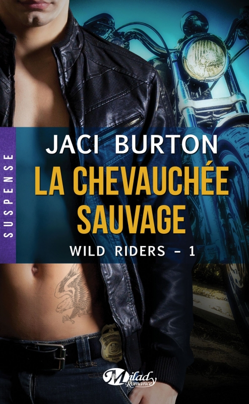 Couverture Wild riders, tome 1 : La chevauchée sauvage