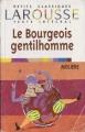 Couverture Le bourgeois gentilhomme Editions Larousse (Petits classiques) 2002
