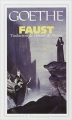 Couverture Faust Editions Flammarion (GF) 1999