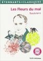 Couverture Les fleurs du mal / Les fleurs du mal et autres poèmes Editions Flammarion (GF - Etonnants classiques) 2014