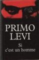 Couverture Si c'est un homme Editions France Loisirs 1997