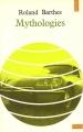 Couverture Mythologies Editions Points 1970