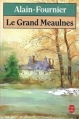 Couverture Le Grand Meaulnes Editions Le Livre de Poche 1986