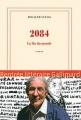 Couverture 2084 : La fin du monde Editions Gallimard (Blanche) 2015