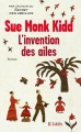Couverture L'Invention des ailes Editions JC Lattès 2015