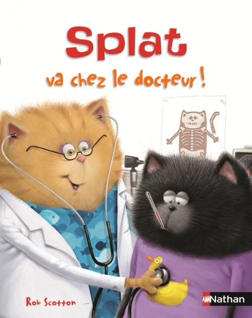Couverture Splat va chez le docteur