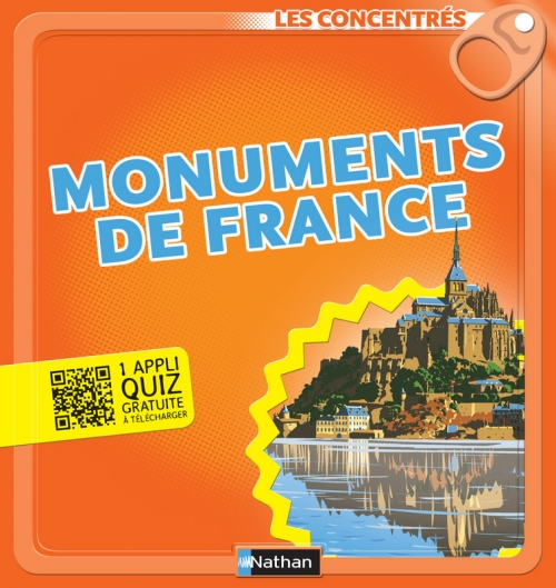 Couverture Monuments de France