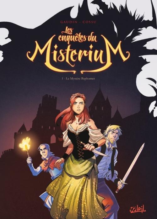 Couverture Les enquêtes du Mistérium, tome 1 : Le mystère Baphomet