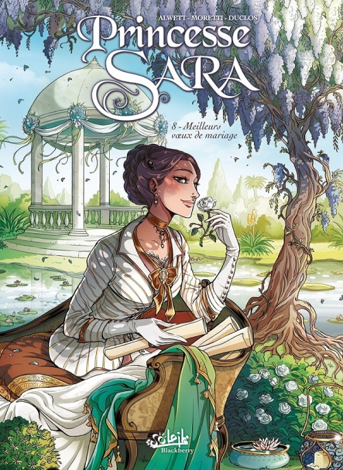 Couverture Princesse Sara, tome 08 : Meilleurs voeux de mariage