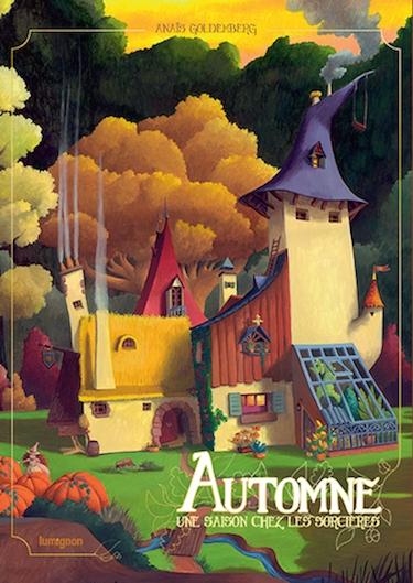 Couverture Une saison chez les sorcières, tome 1 : Automne
