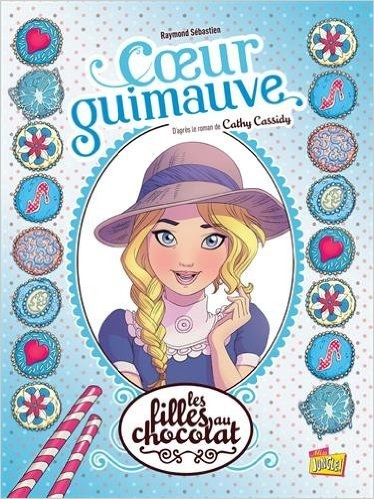 Couverture Les filles au chocolat (BD), tome 2 : Coeur Guimauve