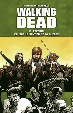 Couverture Walking Dead, tomes 19 et 20 : Ezéchiel suivi de Sur le sentier de la guerre