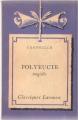 Couverture Polyeucte Editions Larousse 1948