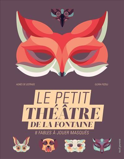 Couverture Le petit théâtre de La Fontaine