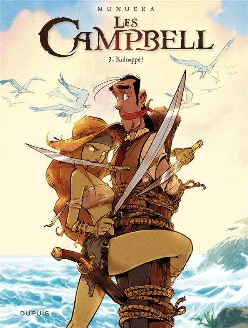 Couverture Les Campbell, tome 3 : Kidnappé !