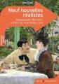 Couverture Neuf Nouvelles Réalistes Editions Belin / Gallimard (Classico - Collège) 2015