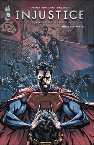 Couverture Injustice : Les dieux sont parmi nous, tome 03 : Année 2, partie 1