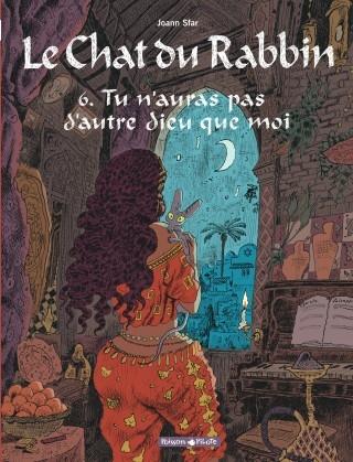 Couverture Le Chat du Rabbin, tome 6 : Tu n'auras pas d'autre dieu que moi