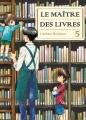 Couverture Le maître des livres, tome 05 Editions Komikku 2015