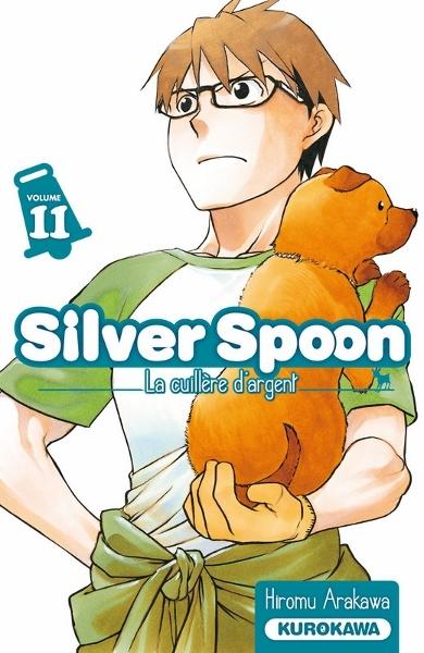Couverture Silver spoon : La cuillère d'argent, tome 11