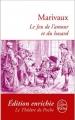 Couverture Le jeu de l'amour et du hasard Editions Le Livre de Poche (Le théâtre de poche) 2012