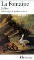 Couverture Fables Editions Folio  (Classique) 1991